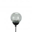 LED solar ball, for plugging, L22cm, D10cm, outsid